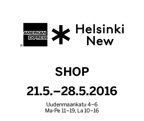 HELSINKI NEW SHOP