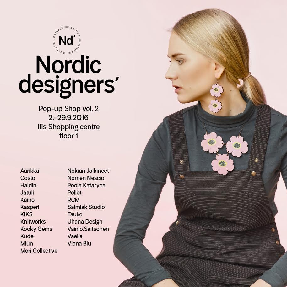 NORDIC DESIGNERS POP UP