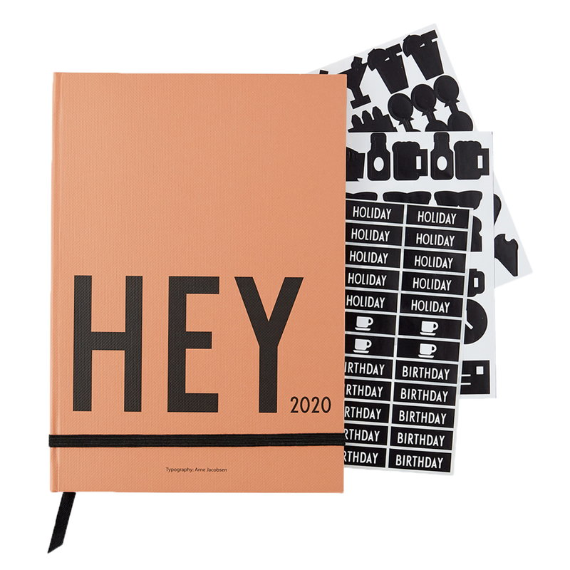 Design Letters kalenteri 2020