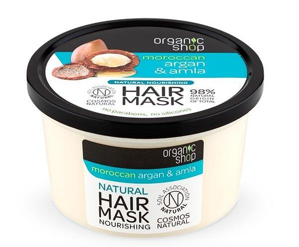 Organic Shop hiusnaamio kokemuksia
