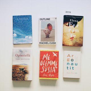 vuonna 2020 julkaistuja kirjoja